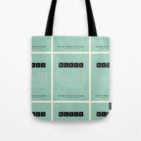politics Tote Bags featuring Politics by politics