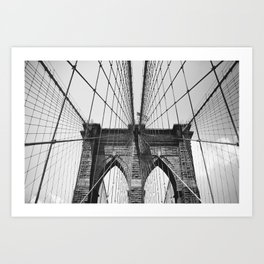 Follow These Lines Art Print
