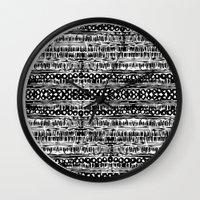 dot Wall Clocks featuring Dot by Tillytyler