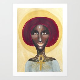 Goddess no 13 Art Print