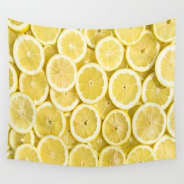 Lemon pattern #society6 #decor #buyart Wall Tapestry