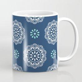 Mandala Mindfulness - Blue Coffee Mug