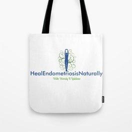 Heal Endometriosis Naturally With Wendy K Laidlaw Tote Bag