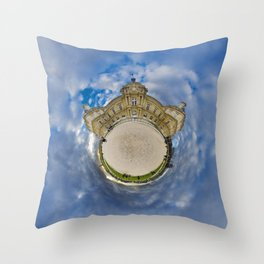 Stéréographique Palais du Luxembourg, Paris Throw Pillow