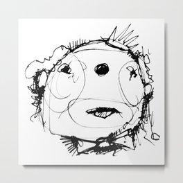 Clowns in Crowns #3 Metal Print