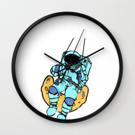 fancy t-shirts for cosmos fans Wall Clock