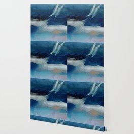 DEEP - Resin painting Wallpaper