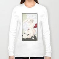 cherry Long Sleeve T-shirts featuring cherry by SEVENTRAPS