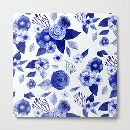 Flowers Print Metal Print