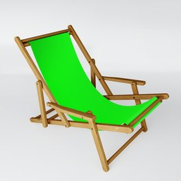 Lime Green Sling Chair