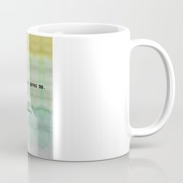 Wonderwall - Oasis Coffee Mug