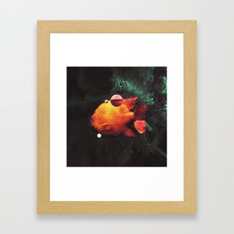 Blop Framed Art Print