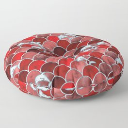 Wave Jumpers (Red) Floor Pillow