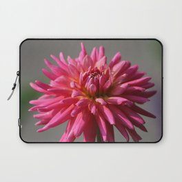 Colorful Dahlia Flower Bloom Laptop Sleeve