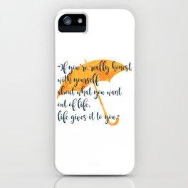 Honest iPhone Case
