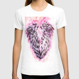Pink Angel Wings  T-shirt