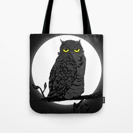 Night Owl V. 2 Tote Bag