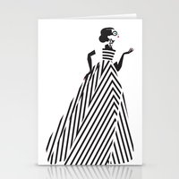dress Stationery Cards featuring Dress by karrapa