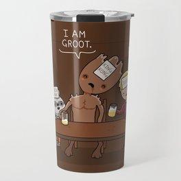 Who am I? Travel Mug