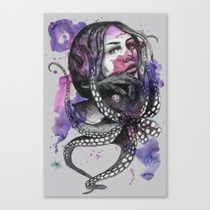 Octopus by carographic Canvas Print