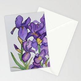 Pretty Purple Petals Stationery Cards
