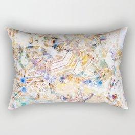 Mosaic of Barcelona XI Rectangular Pillow