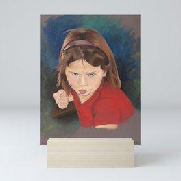 Take That Back Mini Art Print