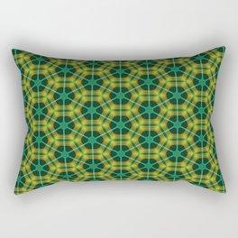 Neon Flux 03 Rectangular Pillow