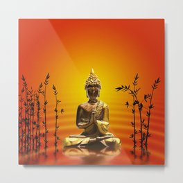 Buddha 14 Metal Print