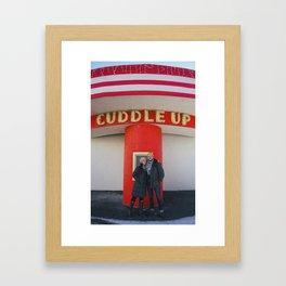 Cuddle Up Framed Art Print