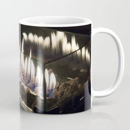 Flames in the Night Coffee Mug
