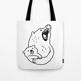 LOOK HOW CUTE! Tote Bag