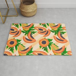 Papaya Party Rug