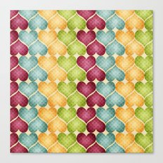 Hearts For Hearts. Canvas Print