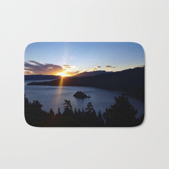 Sunrise at Emerald Bay Bath Mat