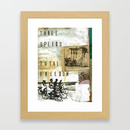 Total Freedom Framed Art Print