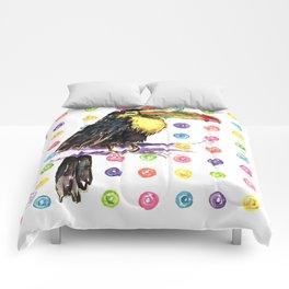 Toucan Happiness Comforters