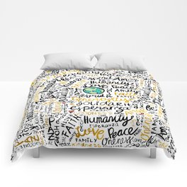 Positive Messages Comforters