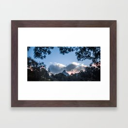 Sunset at Mount Warning, NSW Framed Art Print