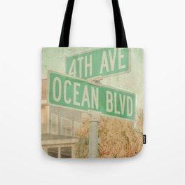 Ocean Boulevard Tote Bag