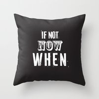 quotes Throw Pillows featuring quotes by Regina Trifeau
