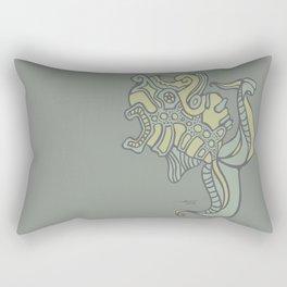 Sick Fish Rectangular Pillow