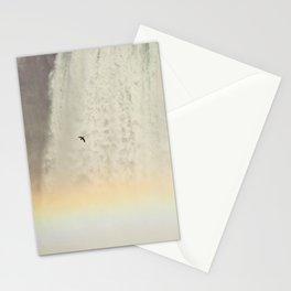 Bird and Rainbow at Niagra Falls Stationery Cards