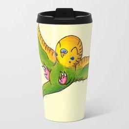 Little Green Parakeet Travel Mug