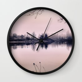 Rose Colored Glasses Wall Clock