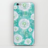 coconut wishes iPhone & iPod Skins featuring Wishes by Lisa Argyropoulos