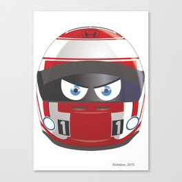 Jenson BUTTON_2014_Helmet #22 Canvas Print