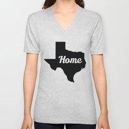 Home Texas Unisex V-Neck
