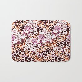 abstract butterflies Bath Mat