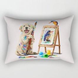 Im Artist Rectangular Pillow